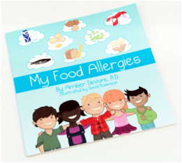 food allergy book for kids